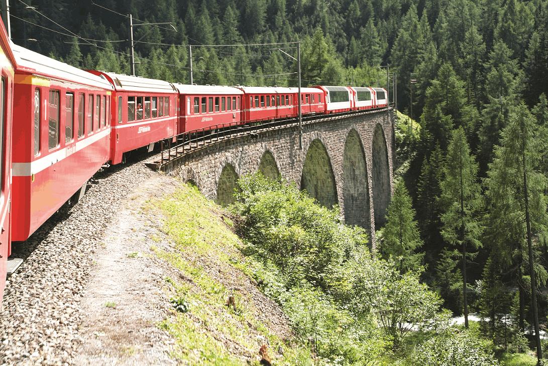 10 Day Grand Train Tour of Switzerland